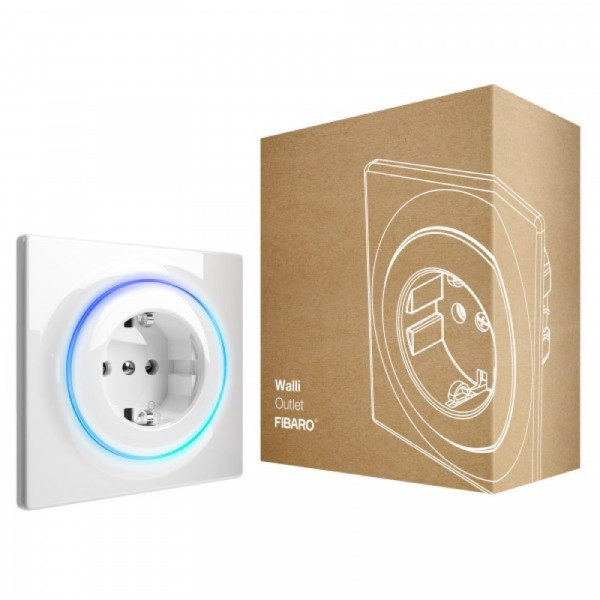 FIBARO Walli Outlet (Typ F), Z-Wave Plus