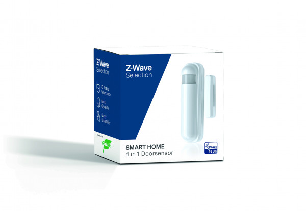 4 in 1 Tür-/Fenstersensor, Z-Wave Selection