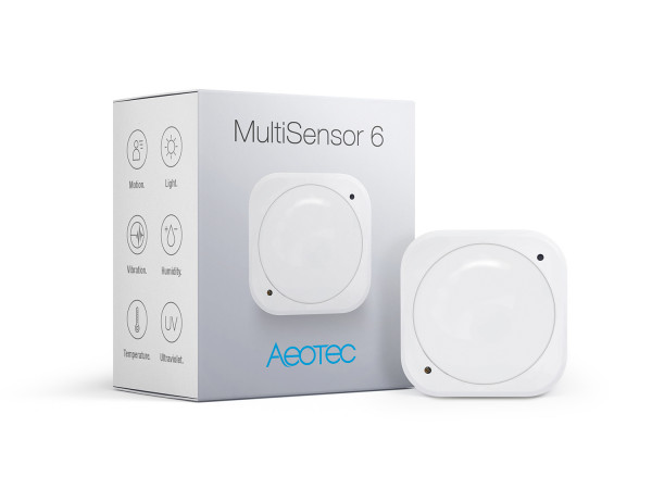 Aeotec MultiSensor 6, Z-Wave Plus