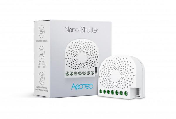 Aeotec Nano Shutter, Z-Wave Plus