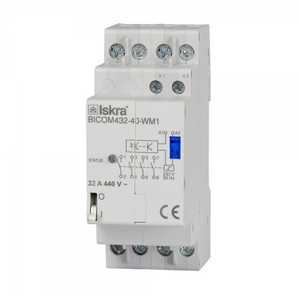 Qubino 32A Bistabiler Schalter DIN