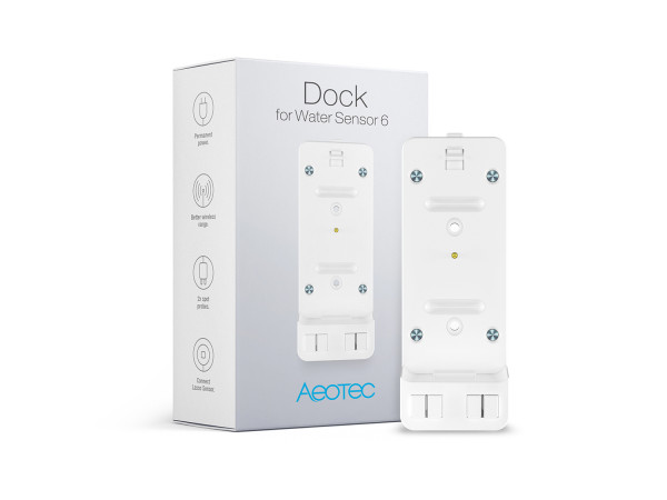 Aeotec Dockingstation für Wassersensor 6, Z-Wave Plus
