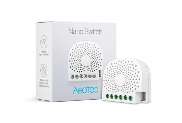 Aeotec Nano Switch, Z-Wave Plus
