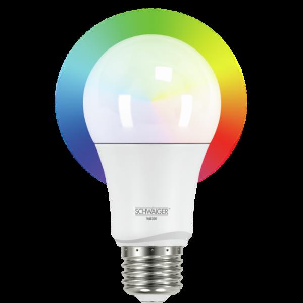 SCHWAIGER - LED Leuchtmittel RGBW - ZigBee (E27)