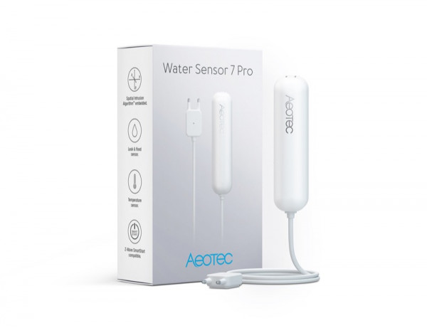 Aeotec Water Sensor 7 Pro, Z-Wave Plus