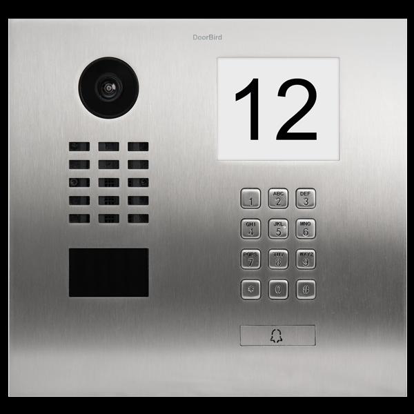 DoorBird IP Video Türstation D2101IKH für Einfamilienhäuser