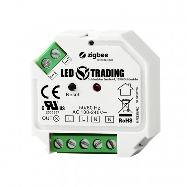 LED Trading Unterputzmodul für Schalter, Zigbee