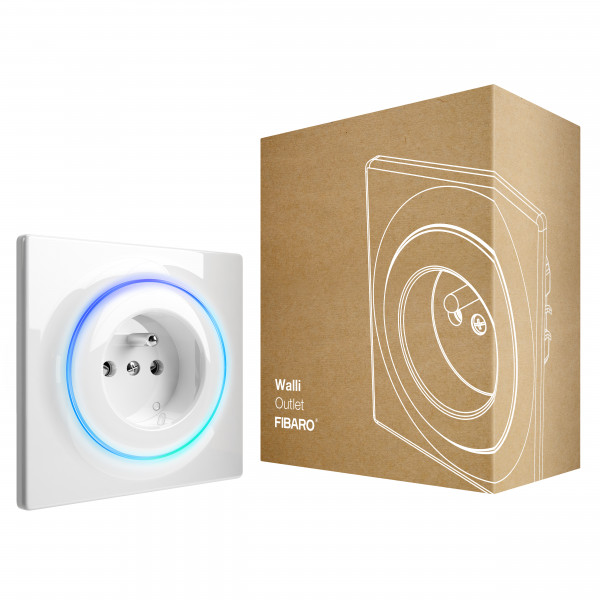 FIBARO Walli Outlet (Typ E), Z-Wave Plus
