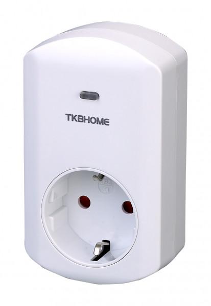TKB Home Zwischenstecker mit Dimmer-Funktion (Typ F), Z-Wave Plus