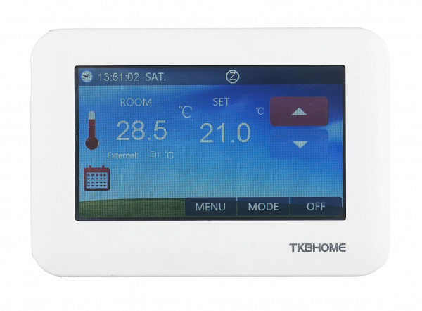 TKB Home Thermostat - Touchpanel, Z-Wave