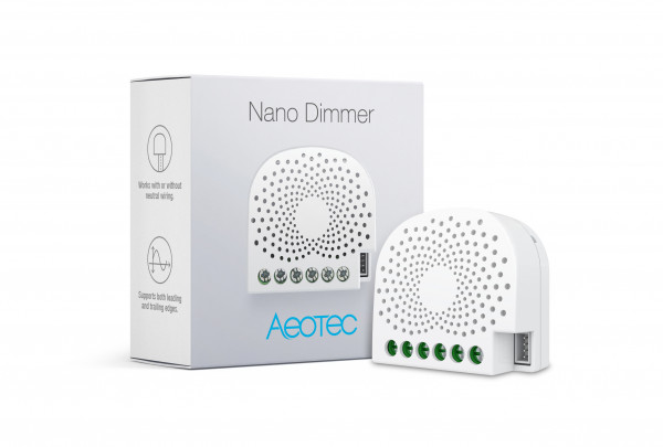 Aeotec Nano Dimmer, Z-Wave Plus