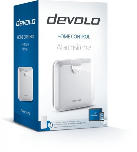 devolo Home Control Alarmsirene, Z-Wave Plus
