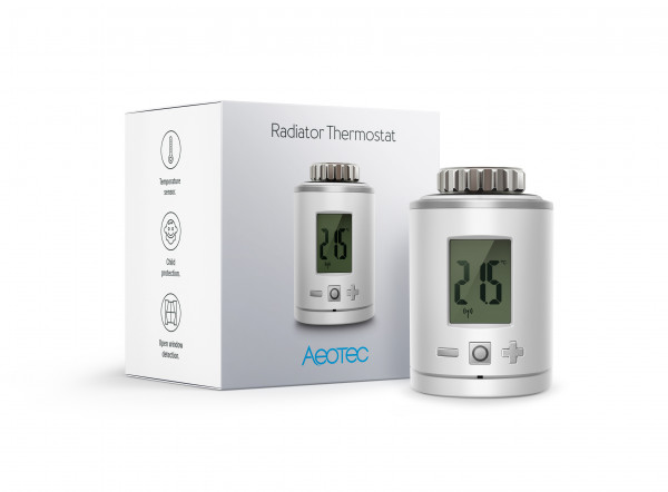 Aeotec Heizkörperthermostat, Z-Wave Plus