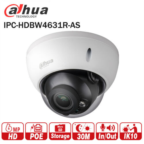 Dahua 6MP Aussenkamera, IPC HDBW4631R-AS