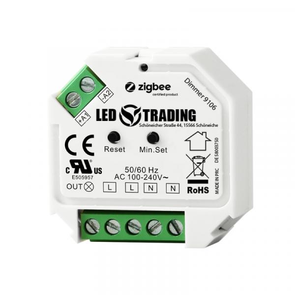 LED Trading Unterputzdimmer für Taster, Zigbee